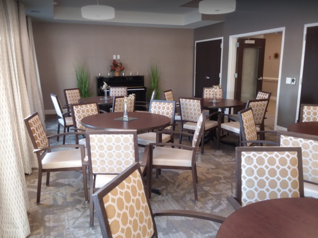 The Community Room, where breakfast is served and various exciting events and activities take place!