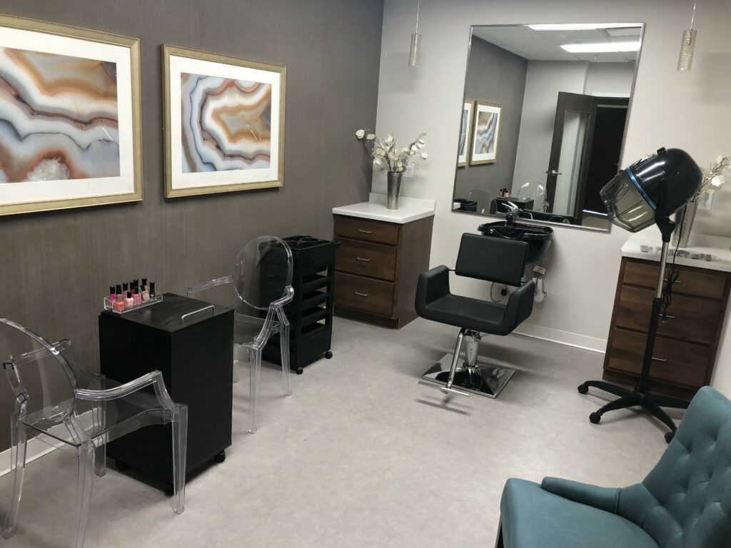 Pamper yourself at our onsite Serenity Salon!